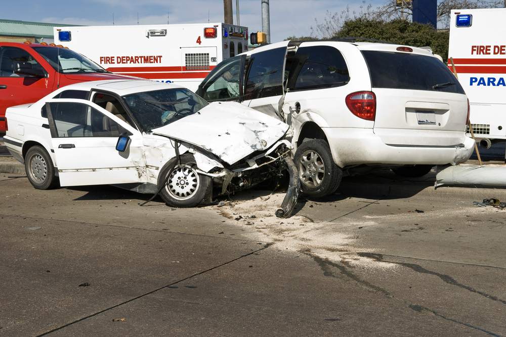 What happens after a car accident deposition?